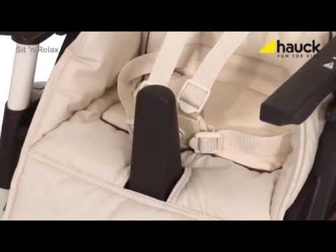 Hauck Sit N Relax Highchair and Bouncer - Demonstration Video | Nursery Furniture store