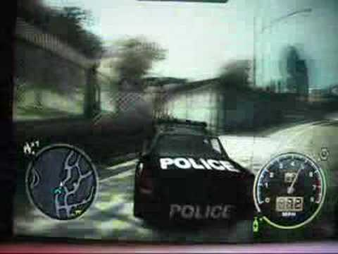 Need for speed most wanted- Drive cop cars and special cars