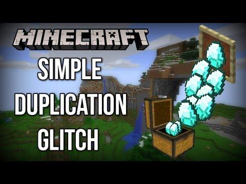 Really SIMPLE Minecraft DUPLICATION Glitch (Xbox/ Windows 10/ Pocket Edition)