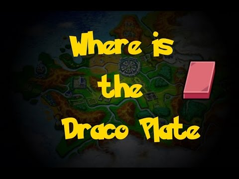 Where Is: The Draco Plate (Pokemon X/Y)