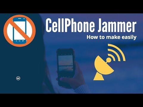 Cell Phone Jammer : EMP Jammer