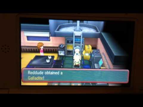 Pokemon Omega Ruby: How to obtain Gallade's Mega Stone