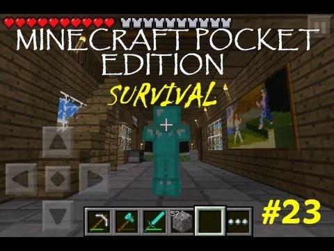 Minecraft PE Survival #23