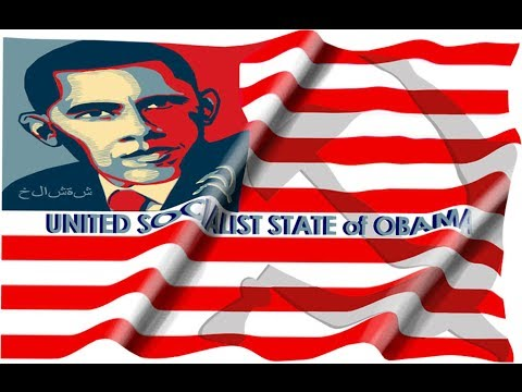 The Antichrist Barack Obama Says No Bill of Rights, No Constitution, No Liberty and Justice 4 All!