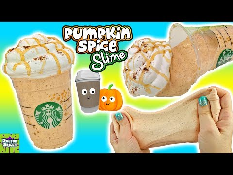 Pumpkin Spice Latte Slime! Adorable Fall Scented Homemade Slime! Doctor Squish