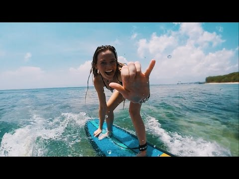 Bali vlog - Learning To Surf