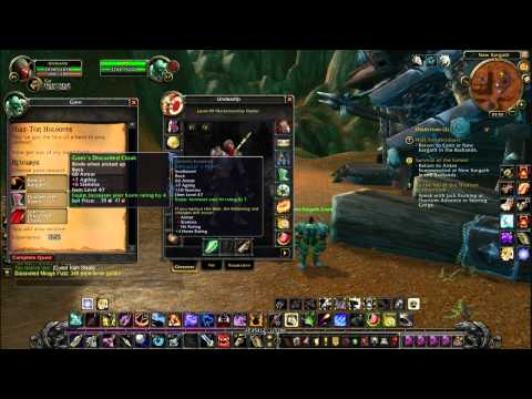 Let's Play World Of Warcraft Part33 Badlands Deathwing Rage