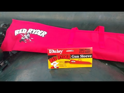Daisy, Red Ryder gun sleeve