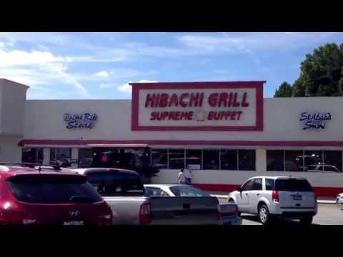 Habachi supreme buffet in Riverdale, Georgia