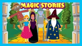 Magic Stories - The Wizard Of OZ, The Jack and Beanstalk And The Frog Prince