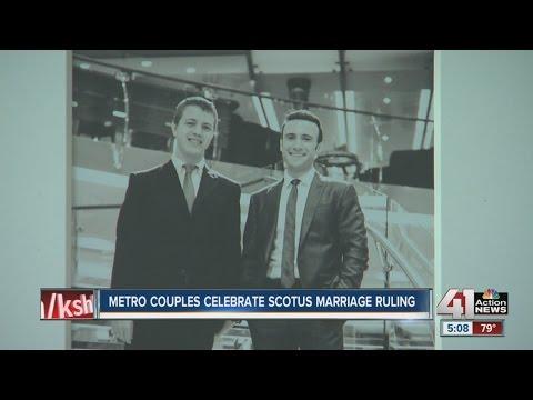 Metro couples celebrate Supreme Court same-sex decision