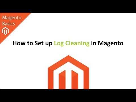 How to Set up Log Cleaning in Magento