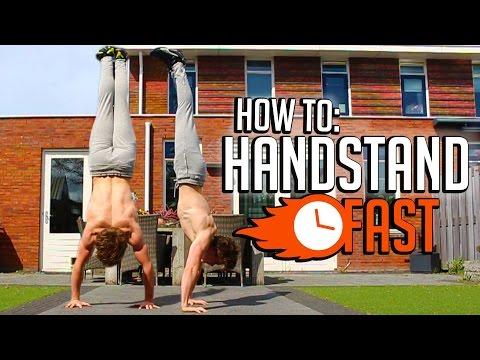 Learn How To Handstand! (FULL HANDSTAND TUTORIAL!)   Fast Progress Challenge