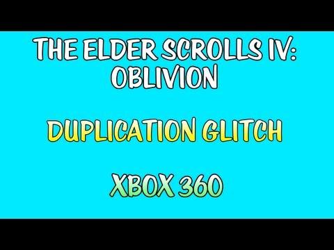 The Elder Scrolls IV: Oblivion - Duplication Glitch (XBOX360)