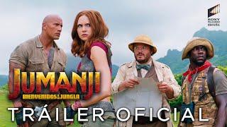 JUMANJI: BIENVENIDOS A LA JUNGLA. Tráiler oficial HD en español. Ya en cines.
