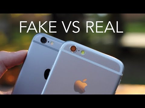 Spot A Fake iPhone Using Its Serial Number
