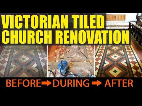 Victorian Tile Restoration - Church Tile Restoration in Manchester | Manchester Tile Cleaning