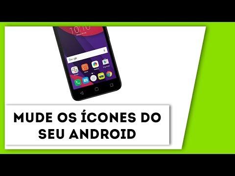 Como mudar os ícones do celular Android - FÁCIL