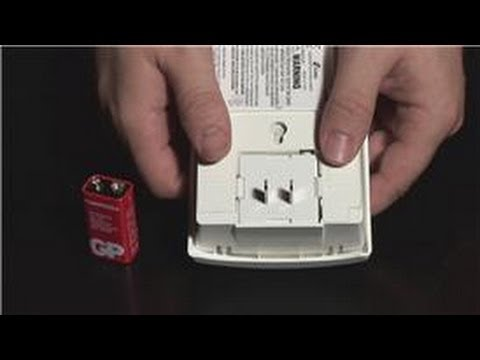 Home Safety Tips : How to Install a Carbon Monoxide Alarm