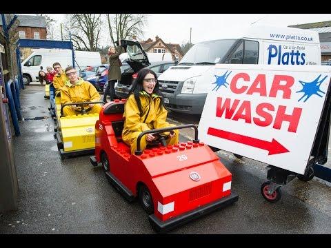 LEGOLAND Windsor Resort Goes to the Car Wash!