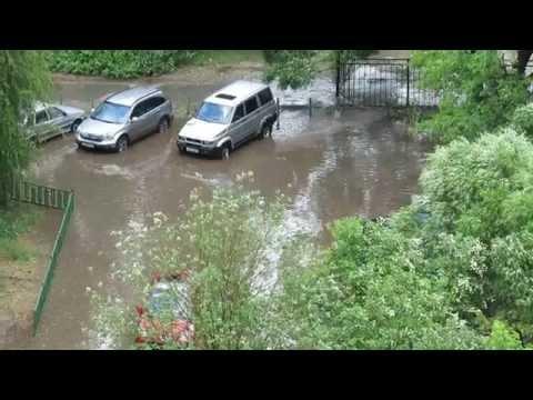 Последствия дождя 09.06.2014 в Перми