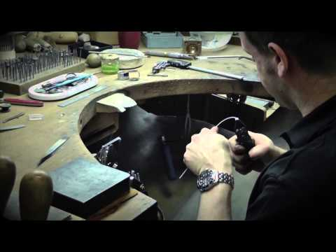 The Process of Making a Hand Made Engagement Ring and Wedding Ring Set
