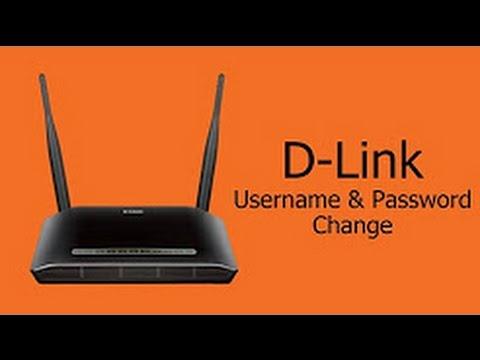 تغيير اسم وباسورد وايفاي D link
