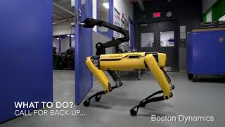 MUST SEE: Robot Dogs Escape Boston Dynamics