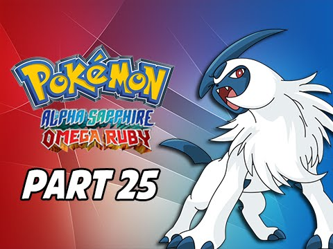 Pokemon Omega Ruby & Alpha Sapphire Walkthrough Part 25 - Absol (3DS Commentary)