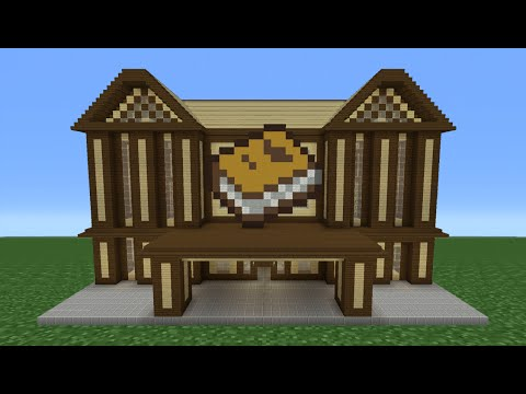 Minecraft Tutorial: How To Make A Library