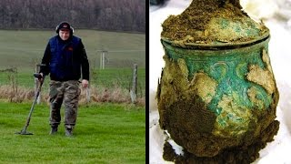 Amateur treasure hunter uncovers £1m Viking hoard