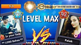 I played VS Legend Indian Girl 😍 Galaxy Level MAX (Must Watch)