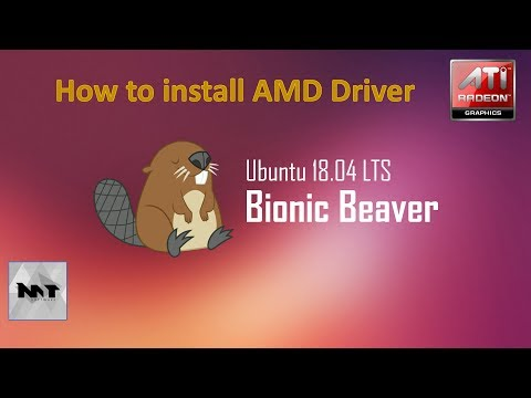 How to install AMD Driver on Ubuntu 18.04