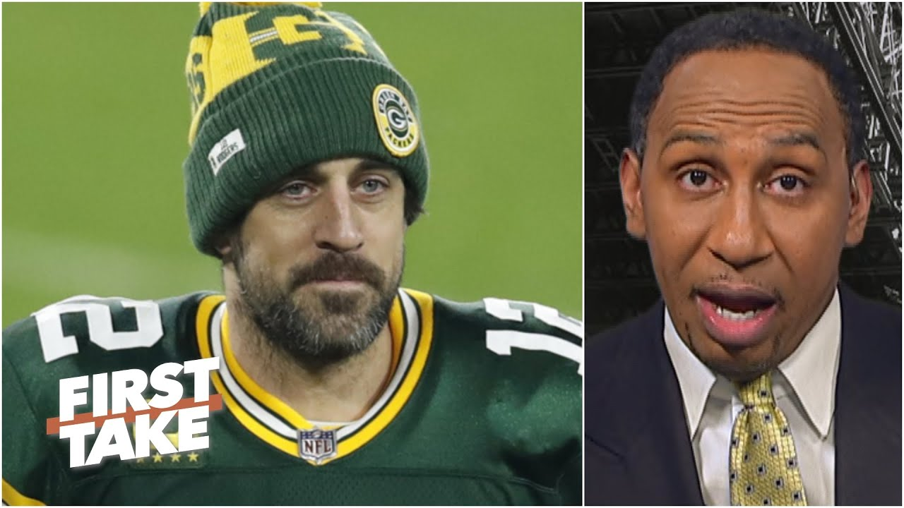 'I double dare' the Packers to listen to trade offers for Aaron Rodgers - Stephen A. | First Take
