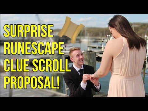 Surprise RuneScape Clue Scroll Proposal!