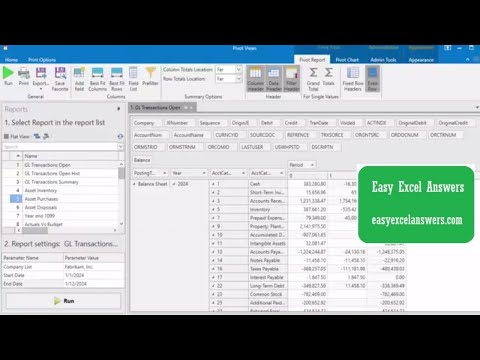 PivotViews a Review of New Reporting Software