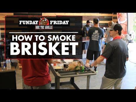 Funday Friday week 30 • How to Smoke Brisket | REC TEC Grills