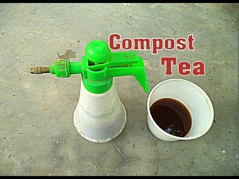 ऐसे बनाये Compost Tea /How to Make Compost Tea at Home  | Manure tea  | Garden tips // Mammal Bonsai