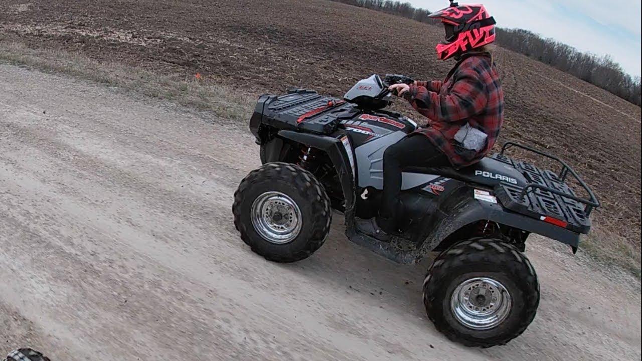 Polaris Sportsman 700 EFI First Ride!