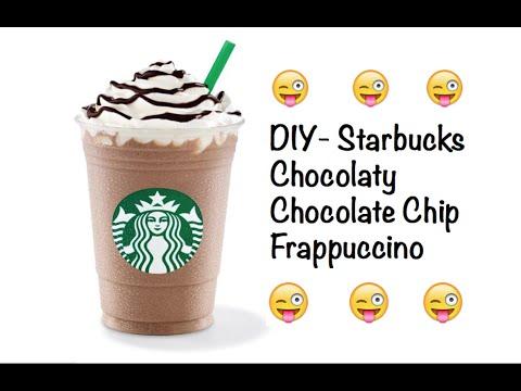 DIY-StarBucks Chocolaty Chocolate Chip Frapp!!!