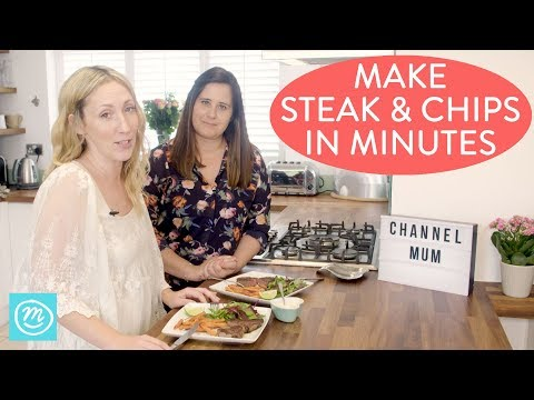 How To Make Steak & Chips In Minutes   Take It Make It With Iceland   Channel Mum   Ad