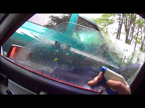 window tint and glue removal