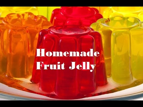 Homemade fruit jelly
