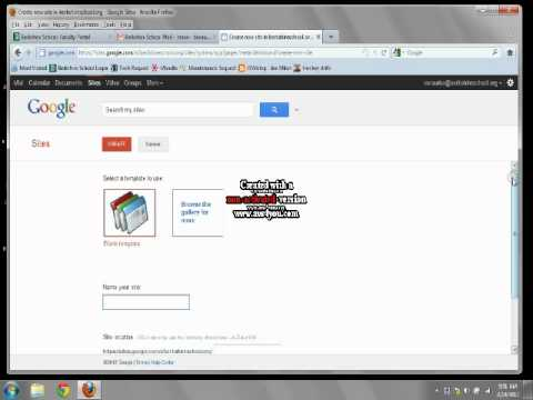 Registering a Domain Name on Google Sites.swf