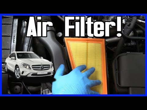 Mercedes Benz GLA 250 Air Filter Replacement