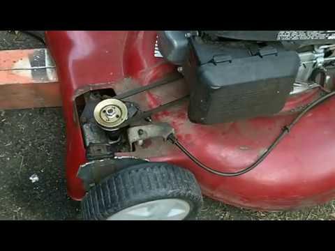 Wheels Locked-Up! Self-Propelled Lawn Mower Fix