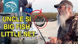 Uncle Si Redfishing BREAKS NET | Commander Life | FULL EPISODE