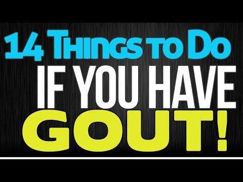 14 Things to Do If You Have Gout
