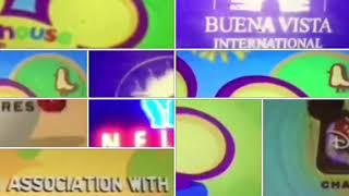 Barney, Zoom, FETCH!, Raggs, PDP, BR, JPWJC, Credits Remix
