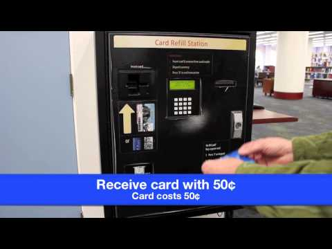 Buy A UC Irvine Libraries Copy Card to Print or Photocopy at the Langson Library